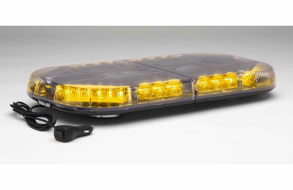 Whelen Mini Justice LED Lightbar Magnetic Mount - MJEG1A - Amber