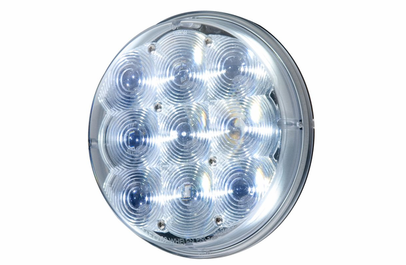 Whelen PAR46 Replacement Spotlight Lighthead - White LEDs - P46FLC