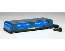 Whelen mini lightbars from swps whelen responder lp con3 led lightbar magnetic blue r1lpmb aloadofball Images