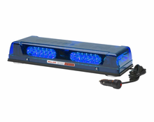 Whelen mini lightbars from swps whelen responder lp lin6 led lightbar magnetic blue r2lpmb aloadofball Images