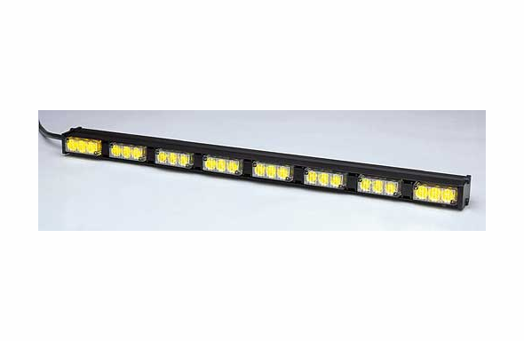 Whelen TIR3 Super-LED Traffic Advisor TAM83 8-head