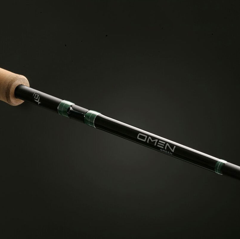13 fishing omen green rods tackledirect