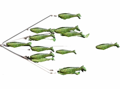9er's 360 4in N.E. Shad Rig Lure