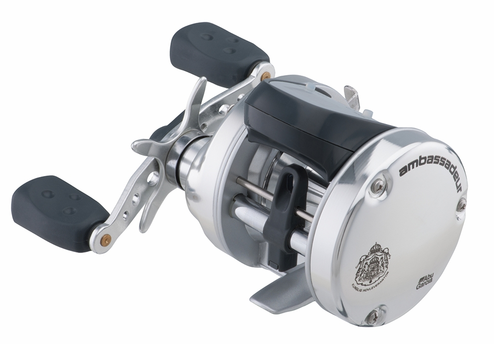Abu garcia ambassadeur s line counter reels tackledirect for Fishing line on reel