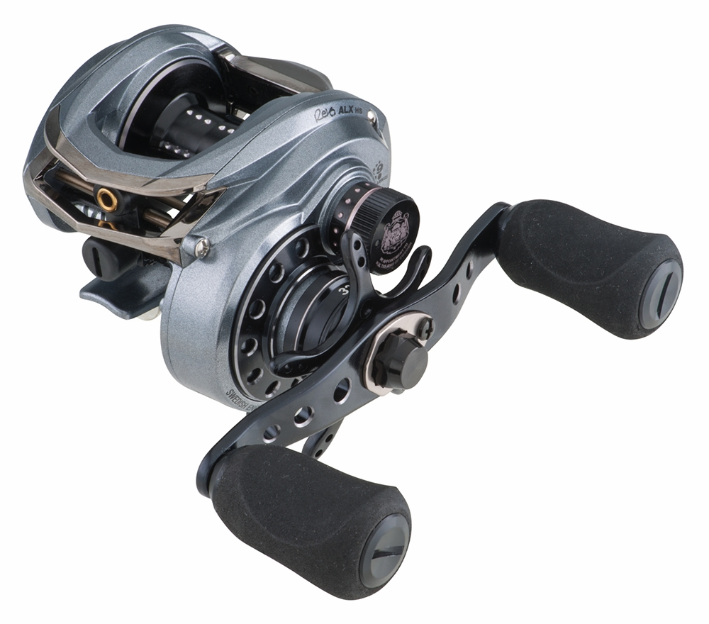 Abu garcia revoalx hs l alx baitcasting reel tackledirect for Baitcasting fishing reels