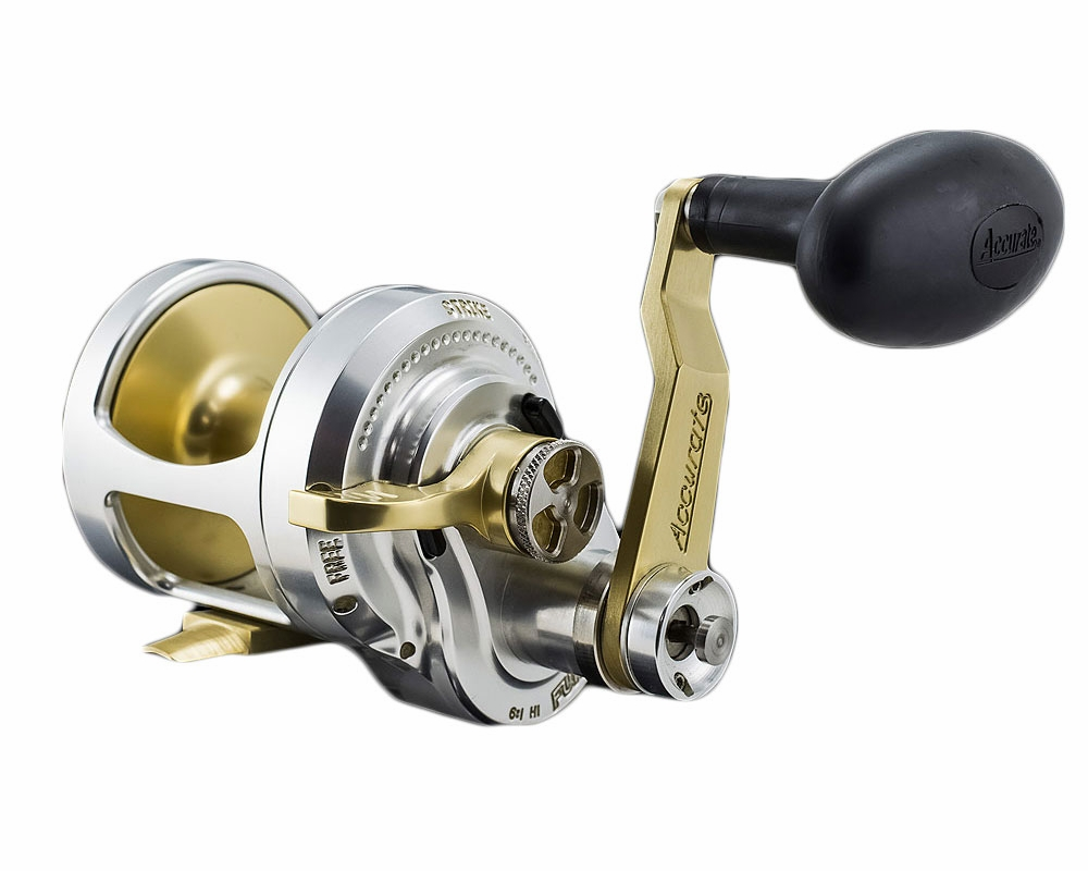 Accurate boss fury 2 speed reels tackledirect for Accurate fishing reels