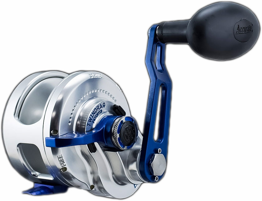 Accurate bx 600nnbls boss extreme single speed reel for Accurate fishing reels