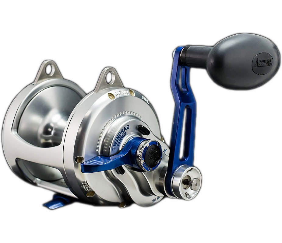 Accurate bx2 30bls boss extreme 2 speed reel tackledirect for Accurate fishing reels