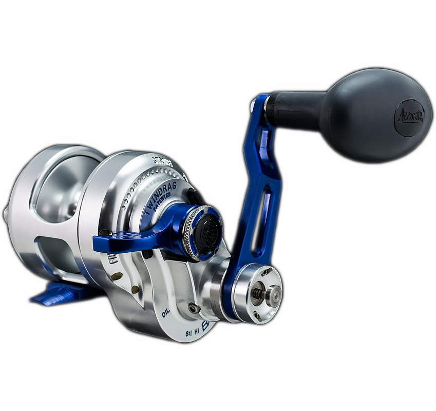 Accurate bx2 400nbls boss extreme 2 speed reel tackledirect for Accurate fishing reels