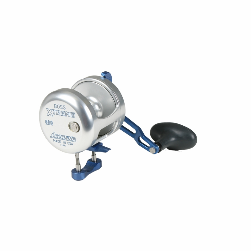 Accurate bx2 600bls boss extreme 2 speed reel for Accurate fishing reels