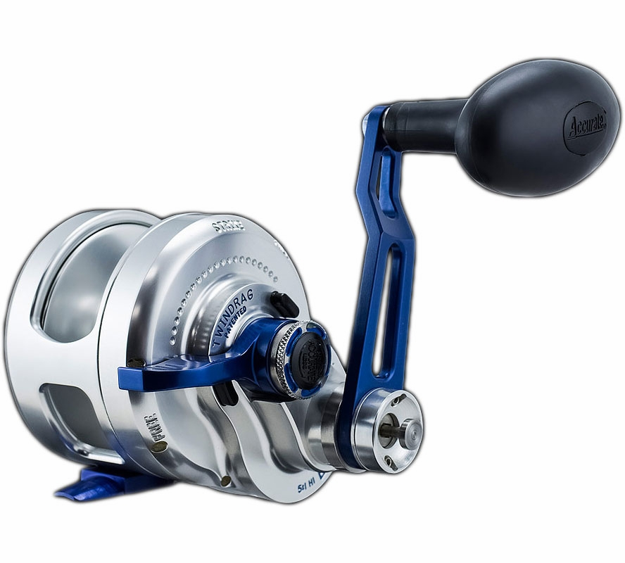 Accurate bx2 600nnbls boss extreme 2 speed reel tackledirect for Accurate fishing reels