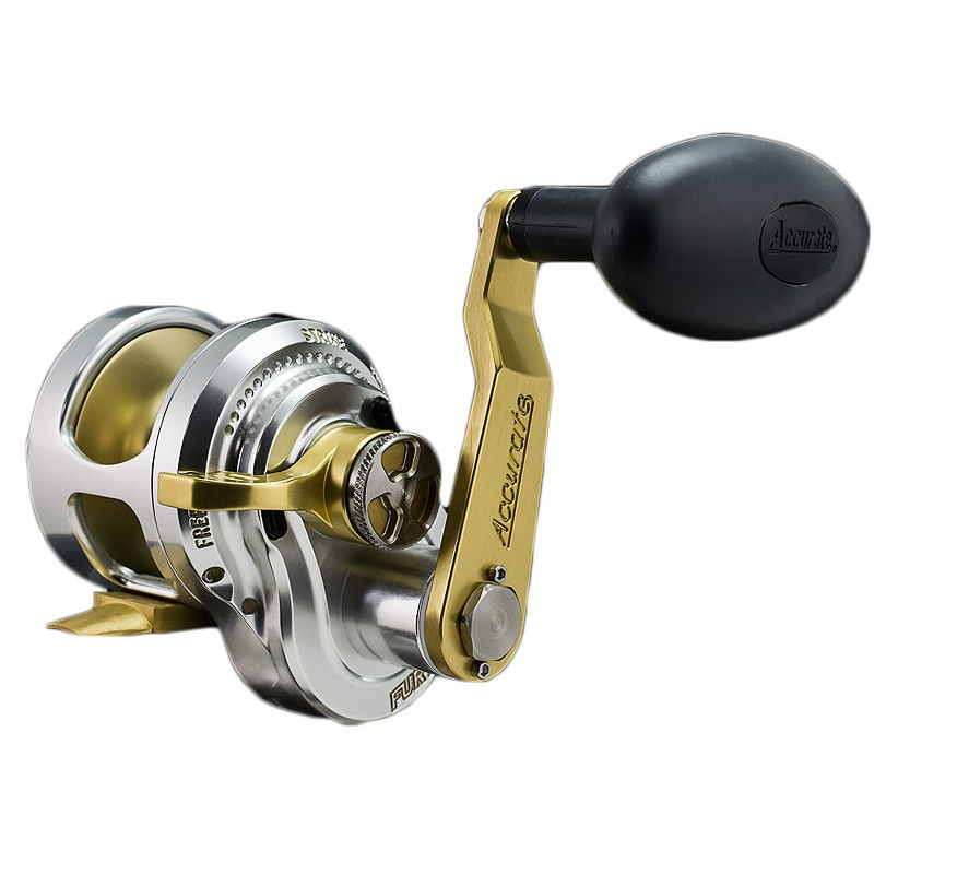 Accurate fury single speed left hand reels tackledirect for Accurate fishing reels