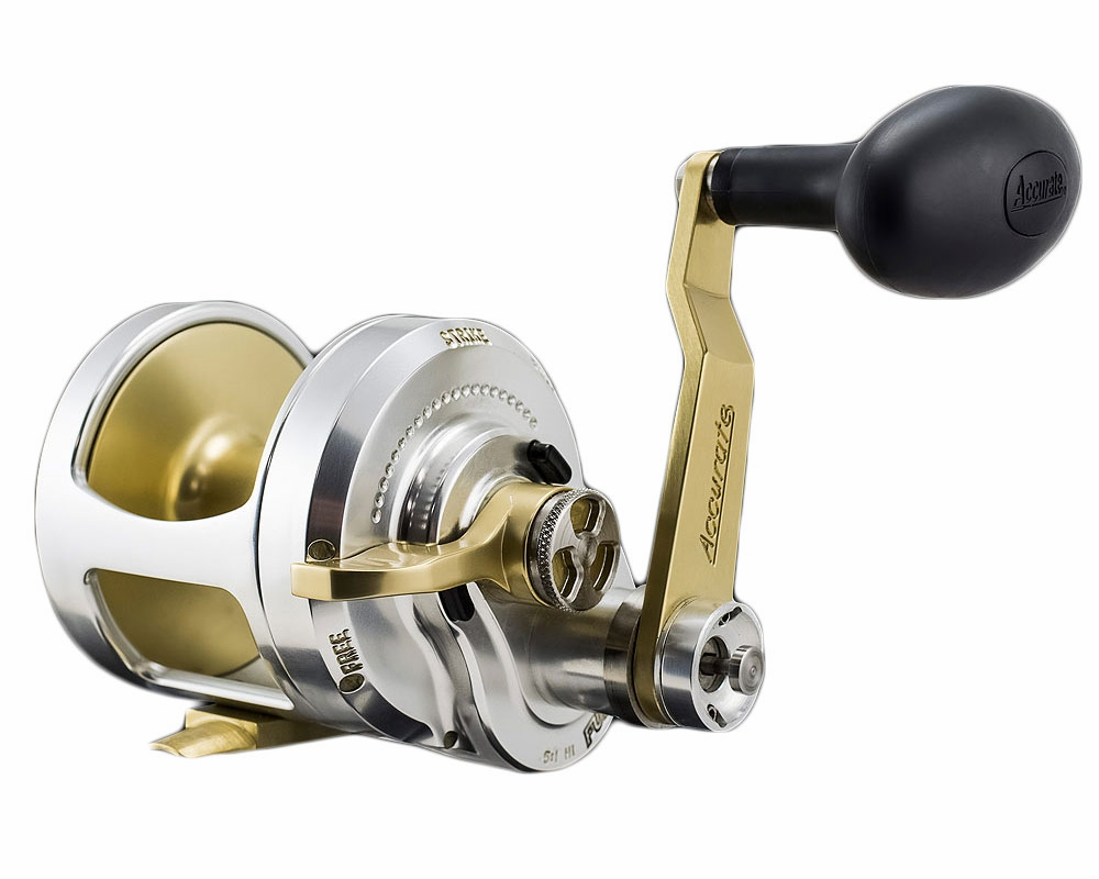 Accurate fx2 600lgs boss fury 2 speed l h reel tackledirect for Accurate fishing reels