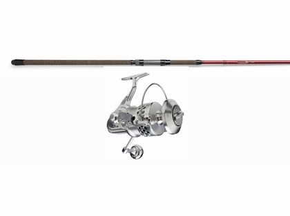 Accurate SR-30 Twinspin Reel - St. Croix 12ft Avid Spin Rod Surf Fishing Combo