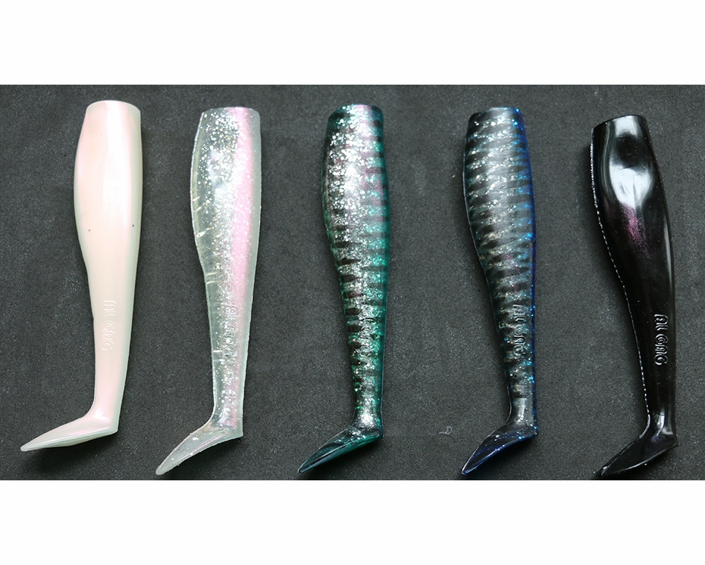 Al gag 39 s whip it fish lures replacement tails tackledirect for Al gags whip it fish
