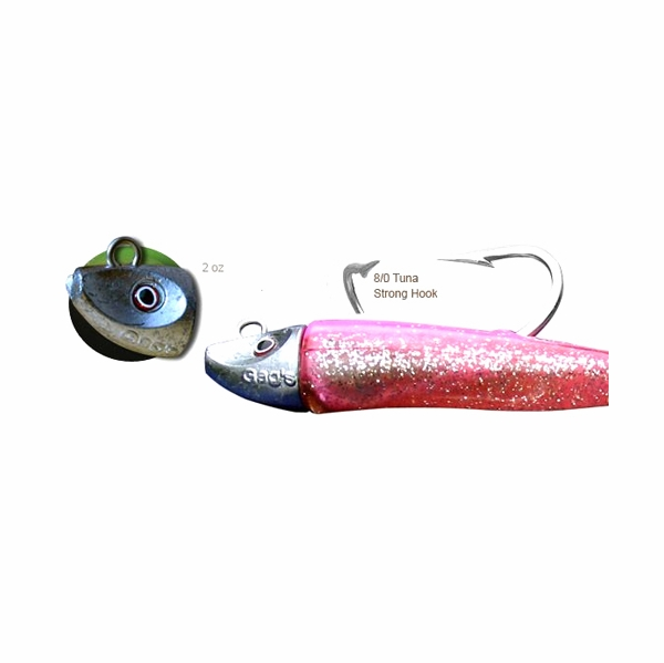 Al gags eelts2 whip it eel tuna lure 10in tackledirect for Al gags whip it fish