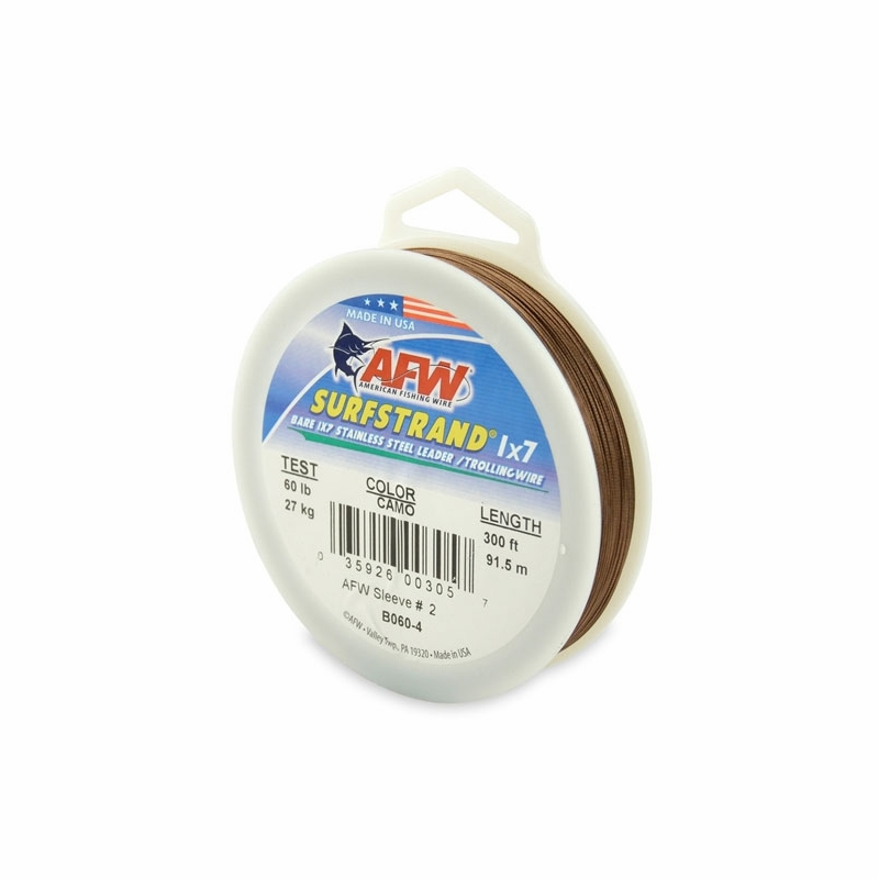 American fishing wire b060 4 60 surfstrand leader wire for American fishing wire