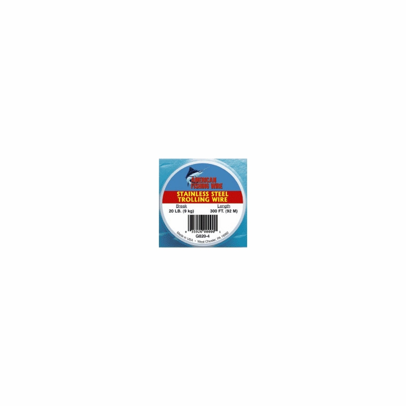 American fishing wire g040 4 2 stainless steel trolling wire for American fishing wire