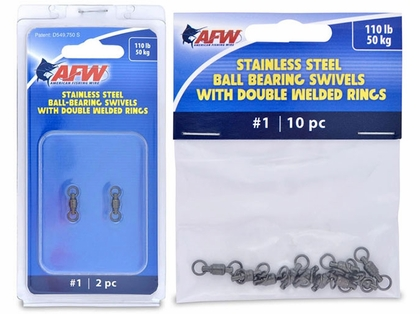 American Fishing Wire Stainless Steel Ball Bearing Swivels