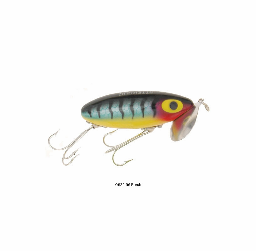 Arbogast g630 jitterbug lure tackledirect for Jitterbug fishing lure