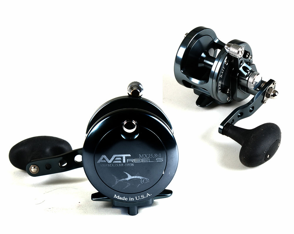 avet mxj 5 8 single speed lever drag casting reel
