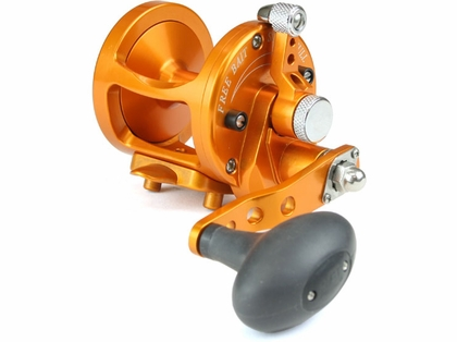 Avet MXL 5.8 Single Speed Lever Drag Casting Reel Orange