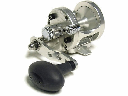Avet SX 5.3 MC L/H Single Speed Lever Drag Cast Reel Left-Hand Silver