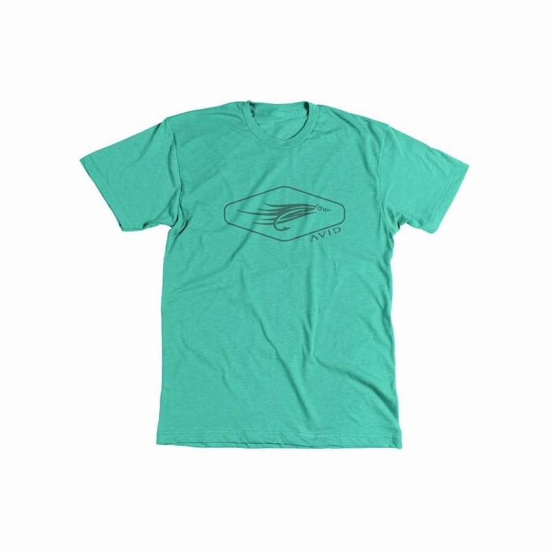 Avid sportswear vintage fly fishing t shirts tackledirect for Fishing t shirts
