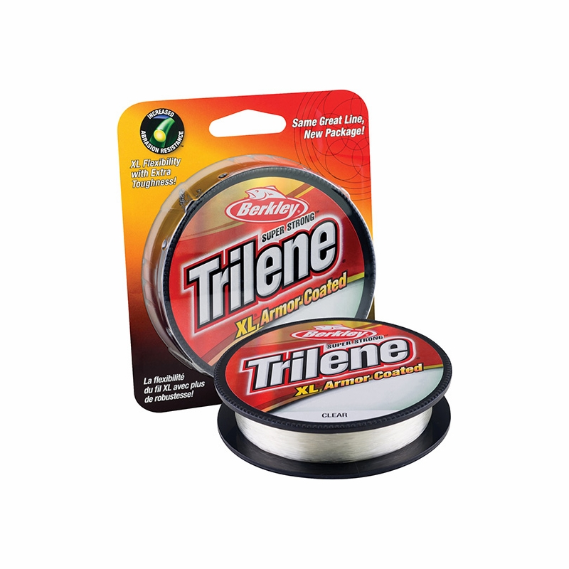 Berkley trilene xl armor coated monofilament tackledirect for Best monofilament fishing line for saltwater