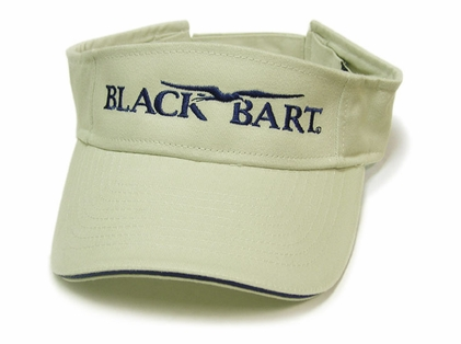 Black Bart Visor Tan