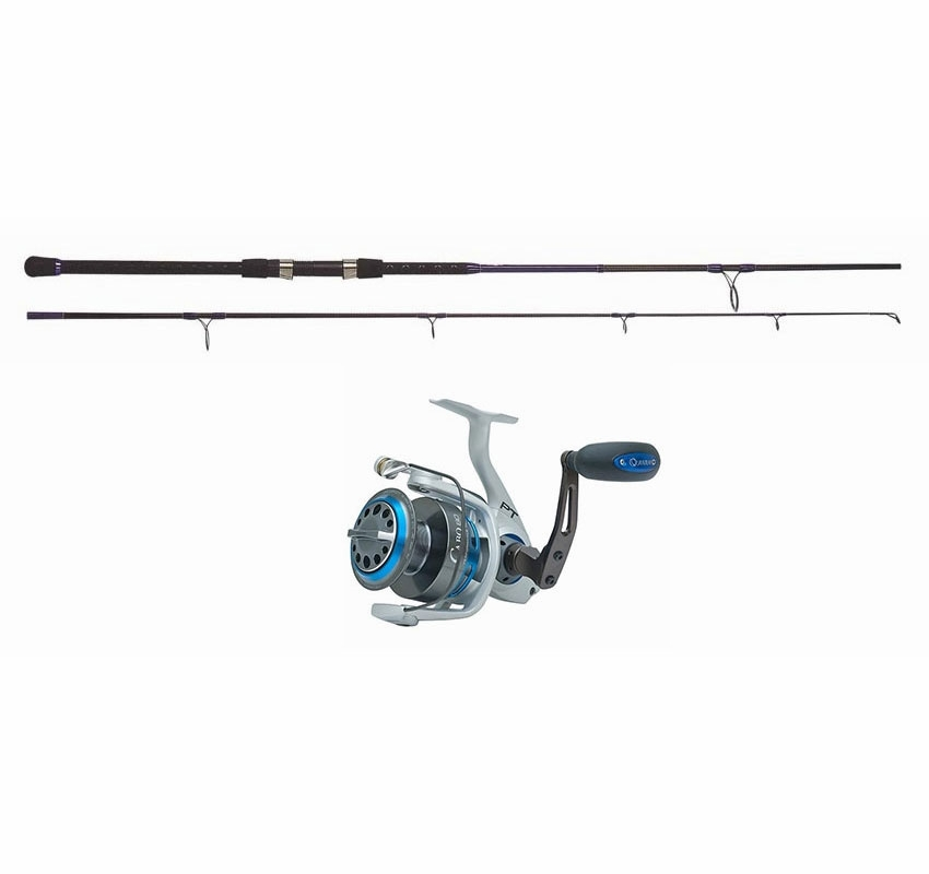 Blacktiph pier fishing combo standard tackledirect for Saltwater fishing rod and reel combos