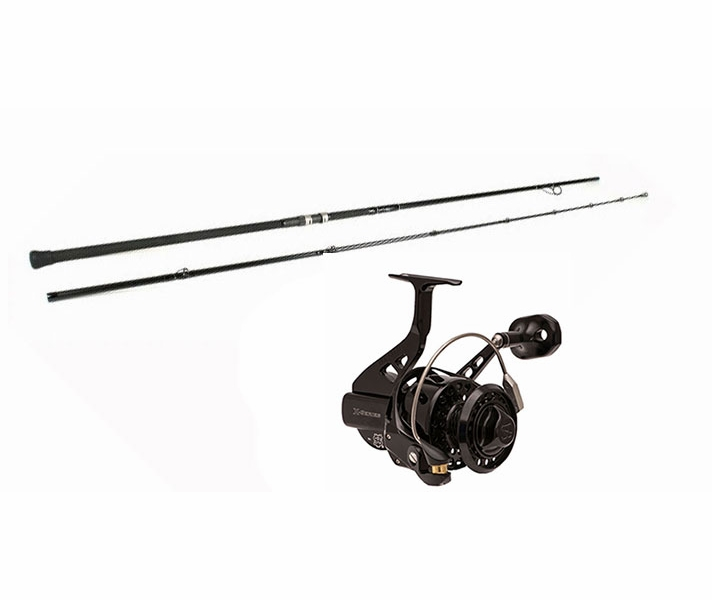 Blacktiph surf fishing combo premium tackledirect for Best surf fishing rod and reel combo