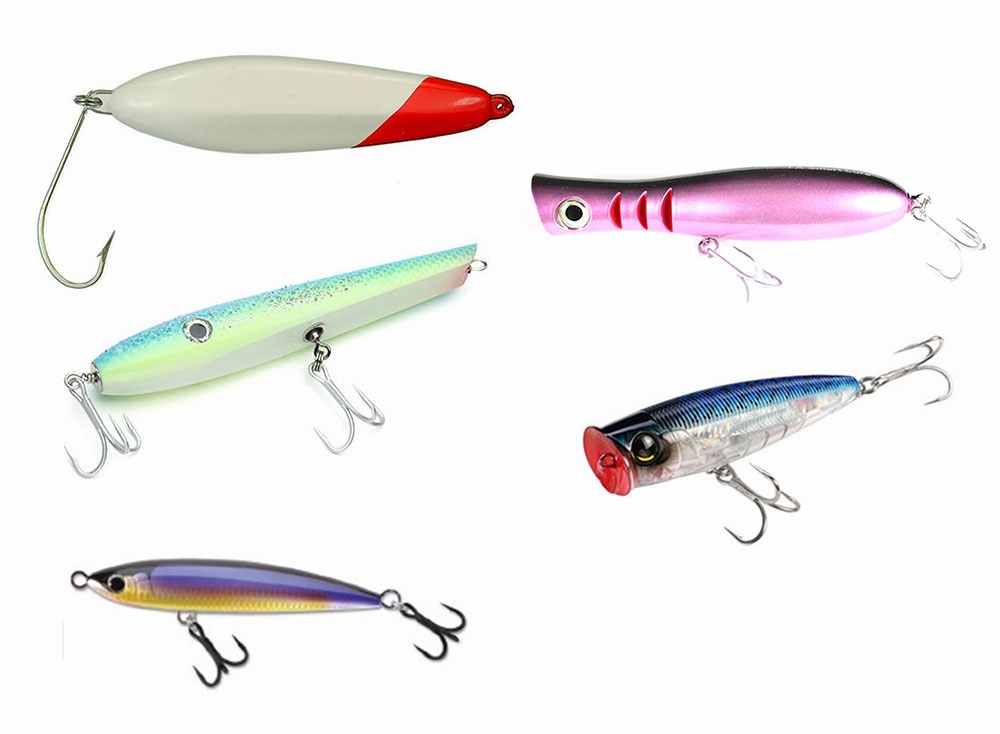 Blacktiph topwater lure combo tackledirect for Topwater fishing lures