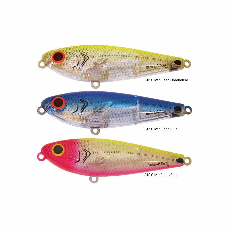 Bomber badonk a donk topwater lures tackledirect for Topwater fishing lures
