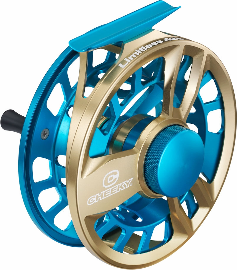 Cheeky limitless 425 fly reel tackledirect for Cheeky fly fishing