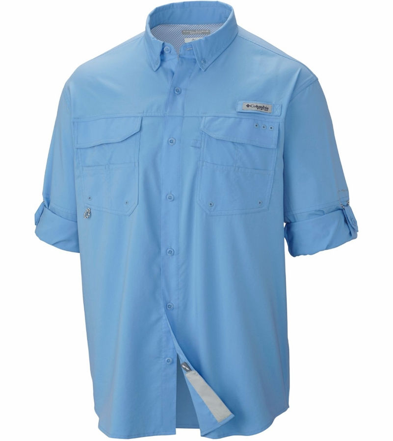 Columbia pfg blood and guts iii long sleeve woven shirt for What is a pfg shirt