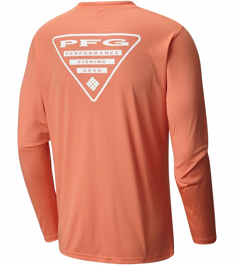 6befecccbca Columbia Terminal Tackle PFG Triangle Men's Long Sleeve Shirt