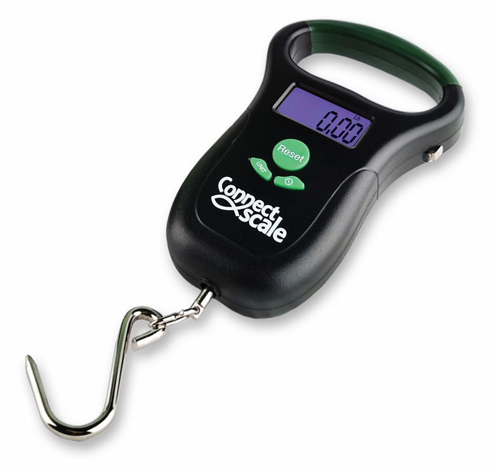 Connectscale bluetooth digital fishing scale and app for Digital fish scale