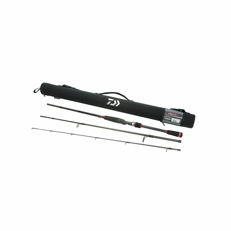 Fisherman deal daiwa ardito travel rod case and for Fishing pole travel case