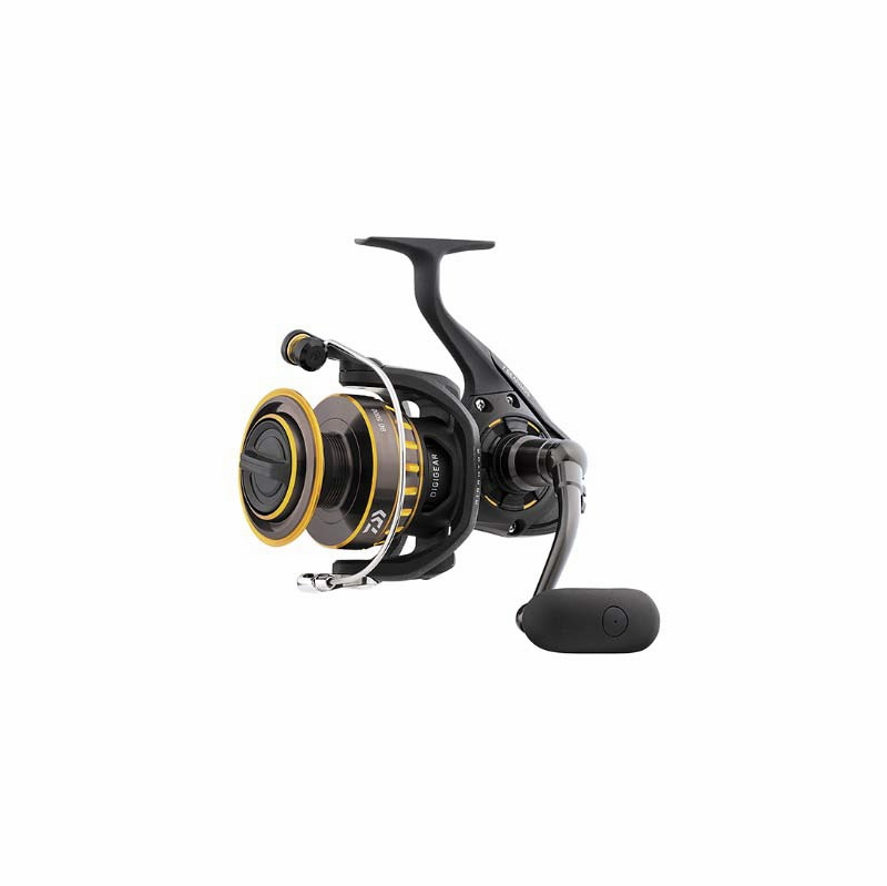 Daiwa bg3000 bg saltwater spinning reel tackledirect for Daiwa fishing reels