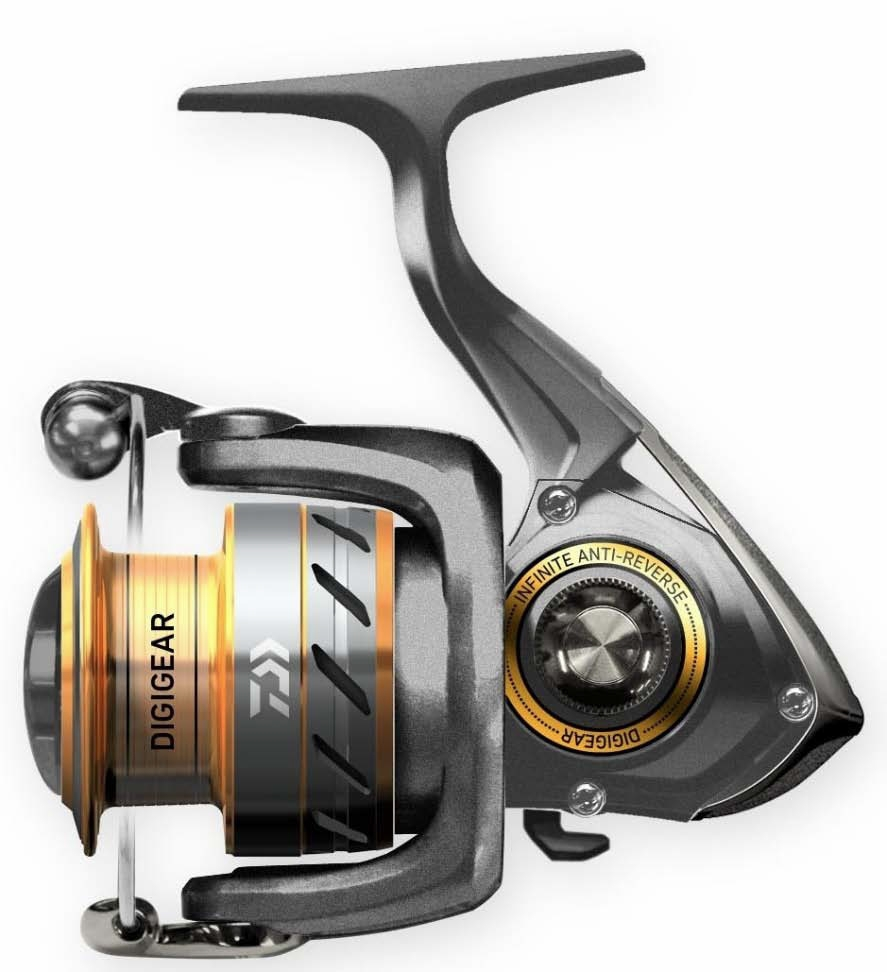 Daiwa crossfire spinning reels for Daiwa fishing reels