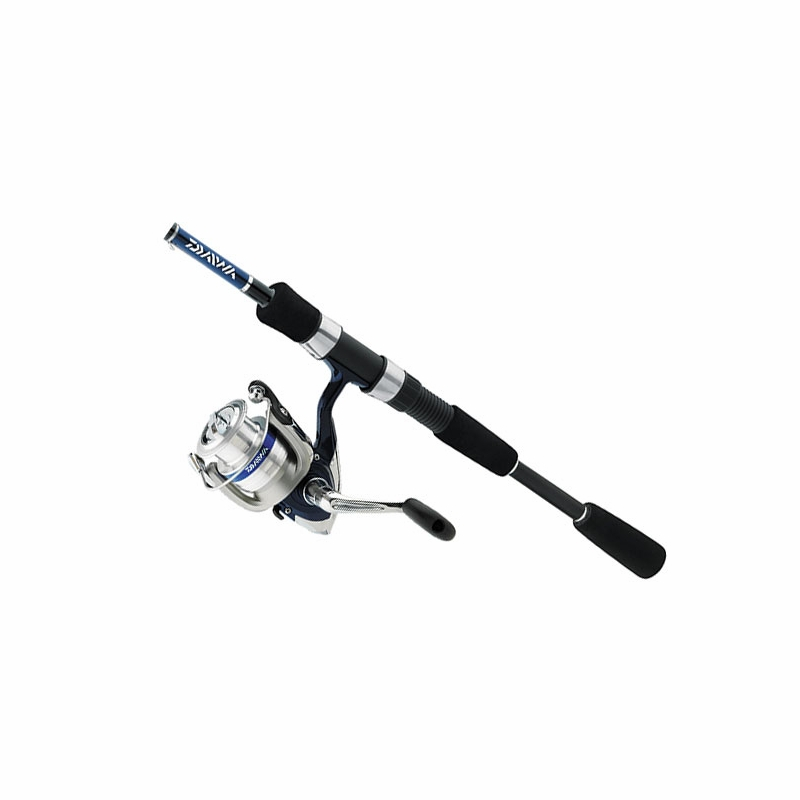 Daiwa dsh30 2b f702m 15br d shock 7 39 spinning combo for Fishing rod reel combo