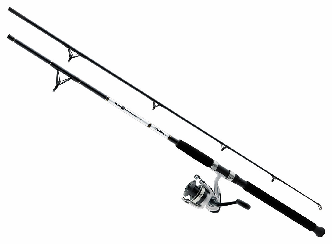 Daiwa d wave dwb saltwater spinning combos tackledirect for Saltwater fishing rods and reels combos