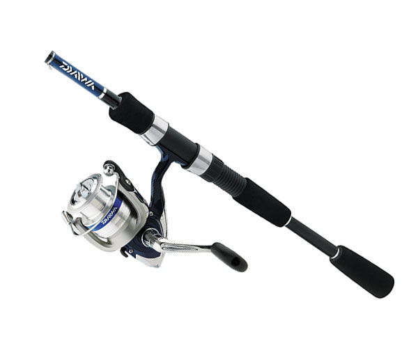 Daiwa dsh25 2b f662m 15br d shock 6 39 6 39 39 spinning combo for Saltwater fly fishing combo