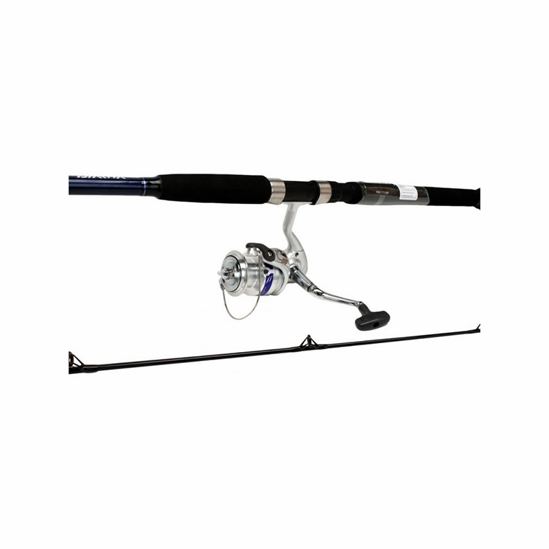 Daiwa dwa40 b f702m d wave saltwater spinning combo for Saltwater fly fishing combo