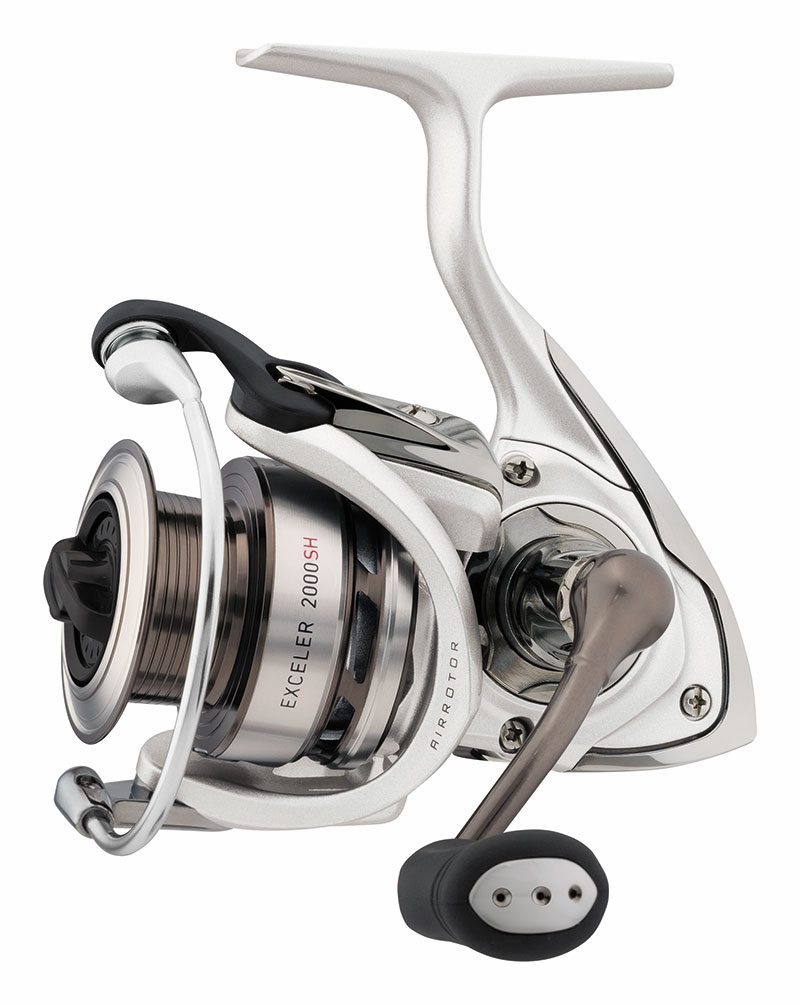 Daiwa exceler spinning reels tackledirect for Daiwa fishing reels