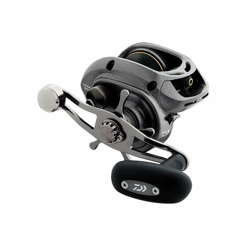 Daiwa lexa high capacity baitcasting reels tackledirect for Baitcasting fishing reels