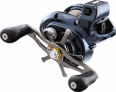 Daiwa Lexa Lc Line Counter Baitcasting Reels Tackledirect