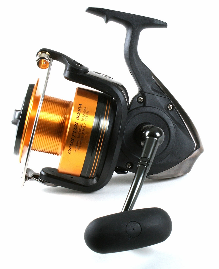 Daiwa opus plus a reel daiwa beefstick rod combo for Surf fishing rods and reel combos