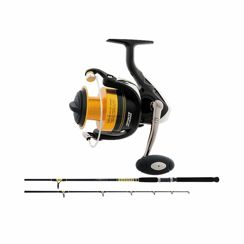 Daiwa opus bg saltwater spinning combos for Saltwater fishing rod and reel combos